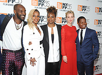 "NEW YORK, NY - OCTOBER 12: Rob Morgan, Mary J. Blige, Dee Rees,Carey Mulligan and Jason Mitchell  attend the 55th NYFF World Premiere of ""Mudbound"" at Alice Tully Hall on October 12, 2017 in New York City. Photo Credit: John Palmer/MediaPunch"
