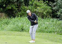 Jenna Hunter. Jennian Homes Charles Tour Autex Muriwai Open, Muriwai Links Golf Course, Muriwai, Auckland, New Zealand,Thursday 12 April 2018. Photo: Simon Watts/www.bwmedia.co.nz