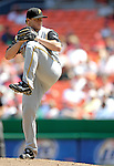 7 June 2007: Pittsburgh Pirates pitcher Matt Capps in action against the Washington Nationals at RFK Stadium in Washington, DC. The Pirates defeated the Nationals 3-2 in the third game of their 3-game series...Mandatory Credit: Ed Wolfstein Photo