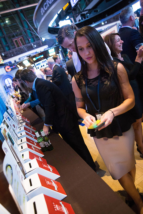 New York, NY: Members Handicapped Children's Fund Fundraiser at the New York Stock Exchange