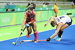 Yukari Mano (JPN), <br /> AUGUST 11, 2016 - Hockey : <br /> Women's Pool Match <br /> between Japan Women's 0-2 Great Britain Women's <br /> at Olympic Hockey Centre <br /> during the Rio 2016 Olympic Games in Rio de Janeiro, Brazil. <br /> (Photo by YUTAKA/AFLO SPORT)