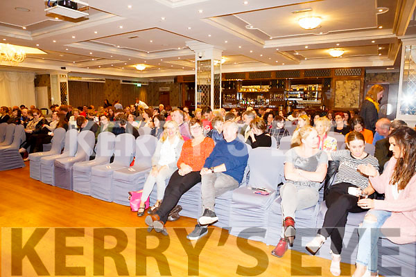 "Jigsaw Kerry hosted at a talk entitled ""Developing Mental Resilience by extreme endurance athlete Gavan Hennigan at the Rose Hotel on Sunday"