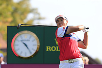 Peiyun Chien (TAI) tees off the 6th tee during Thursday's Round 1 of The Evian Championship 2018, held at the Evian Resort Golf Club, Evian-les-Bains, France. 13th September 2018.<br /> Picture: Eoin Clarke | Golffile<br /> <br /> <br /> All photos usage must carry mandatory copyright credit (© Golffile | Eoin Clarke)