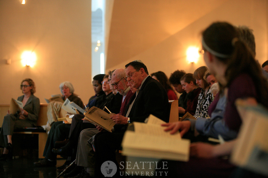 05052011 - Seattle University, School of Theology and Ministry, Yom HaShoah: Remembering the Holocaust