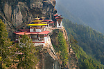 Taktshang or Tiger's Nest Monastery, Paro Valley, Bhutan