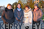 Lixnaw Dawn Mass: Attending the Dawn Mass  at Kiltomey Cemetery, Lixnaw  on Easter Sunday morning last were June Fealey, Yvonne Burgin & Anne & Lisa O'Connor.