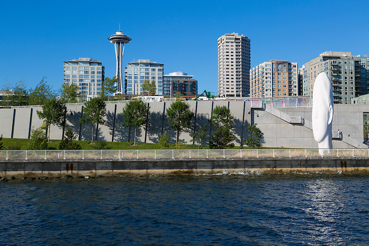 The Olympic Sculpture Park is a public 9-acre park with an outdoor sculpture museum. It is situated at the northern end of the Seattle seawall and the southern end of Myrtle Edwards Park. The Seattle Art Museum, which operates the park, proposed to transformed the area into one of the only green spaces in Downtown Seattle. As a free-admission public outdoor sculpture park with both permanent and visiting installations, it is a unique institution in the United States.
