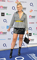 Tallia Storm at the Nordoff Robbins O2 Silver Clef Awards 2018, Grosvenor House Hotel, Park lane, London, England, UK, on Friday 06 July 2018.<br /> CAP/CAN<br /> &copy;CAN/Capital Pictures