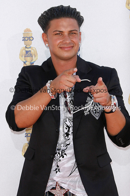 Pauly Del Vecchio at the 2010 MTV Movie Awards held at The Gibson Ampitheatre in Universal City, California on June 06,2010                                                                               © 2010 Debbie VanStory / Hollywood Press Agency