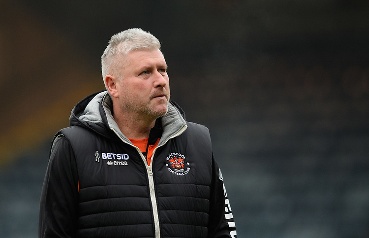 Blackpool's manager Terry McPhillips prior to the game<br /> <br /> Photographer Chris Vaughan/CameraSport<br /> <br /> The EFL Sky Bet League One - Rochdale v Blackpool - Wednesday 26th December 2018 - Spotland Stadium - Rochdale<br /> <br /> World Copyright © 2018 CameraSport. All rights reserved. 43 Linden Ave. Countesthorpe. Leicester. England. LE8 5PG - Tel: +44 (0) 116 277 4147 - admin@camerasport.com - www.camerasport.com
