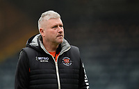 Blackpool's manager Terry McPhillips prior to the game<br /> <br /> Photographer Chris Vaughan/CameraSport<br /> <br /> The EFL Sky Bet League One - Rochdale v Blackpool - Wednesday 26th December 2018 - Spotland Stadium - Rochdale<br /> <br /> World Copyright &copy; 2018 CameraSport. All rights reserved. 43 Linden Ave. Countesthorpe. Leicester. England. LE8 5PG - Tel: +44 (0) 116 277 4147 - admin@camerasport.com - www.camerasport.com