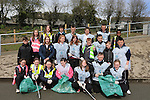 Collon Students Green Flag