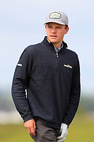 RJ Manke (USA) on the 5th tee during Round 1 of the The Amateur Championship 2019 at The Island Golf Club, Co. Dublin on Monday 17th June 2019.<br /> Picture:  Thos Caffrey / Golffile<br /> <br /> All photo usage must carry mandatory copyright credit (© Golffile | Thos Caffrey)