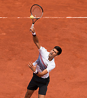 NOVAK DJOKOVIC (SRB)<br /> <br /> TENNIS - FRENCH OPEN - ROLAND GARROS - ATP - WTA - ITF - GRAND SLAM - CHAMPIONSHIPS - PARIS - FRANCE - 2017  <br /> <br /> <br /> <br /> &copy; TENNIS PHOTO NETWORK