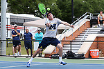 13 May 2016: Michigan's Tyler Gardiner. The University of Michigan Wolverines played the East Tennessee State University Buccaneers at the Wake Forest Tennis Center in Winston-Salem, North Carolina in a 2015-16 NCAA Division I Men's Tennis Tournament First Round match. Michigan won the match 4-3.