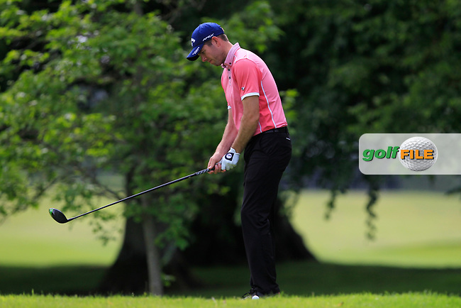 Christopher McDonnell (Golf at Goodwood) on the 2nd tee during Round 2 of the Titleist &amp; Footjoy PGA Professional Championship at Luttrellstown Castle Golf &amp; Country Club on Wednesday 14th June 2017.<br /> Photo: Golffile / Thos Caffrey.<br /> <br /> All photo usage must carry mandatory copyright credit     (&copy; Golffile | Thos Caffrey)