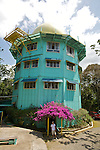 Canopy tower. this former US Air Force radar station serves now as a ecological lodge and observatory that offers guest the chance to immerse themselves in the sights and nsounds of the rainforest. Parque Nacional Soberania