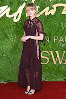 Natalia Dyer<br /> arriving for The Fashion Awards 2017 at the Royal Albert Hall, London<br /> <br /> <br /> ©Ash Knotek  D3356  04/12/2017