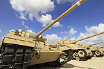 Israel, Shephelah, the Armored Corps Memorial Site and Museum at Latrun
