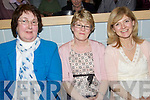 Having a great time at the 'Splash into Fashion' show held in The Ballybunion Health & Leisure Centre on Saturday night were l/r Sheila Kelly, Ballybunion, Martha Lynch, Dingle and Geraldine Gannon, Tralee......................................................................................................................................................................................................................................................................................................... ............