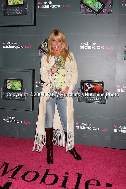 Pamela Bach Hasselhoff  arriving at the  T-Mobile Sidekick LX Launch Event at  Paramount Studios in.in Los Angeles, CA on May 14, 2009 .©2009 Kathy Hutchins / Hutchins Photo...                .