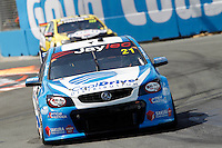2016 Castrol EDGE Gold Coast 600. Rounds 3 and 4 of the Pirtek Enduro Cup. #21. Tim Blanchard (AUS) Macauley Jones (AUS). Team CoolDrive. Holden Commodore VF.