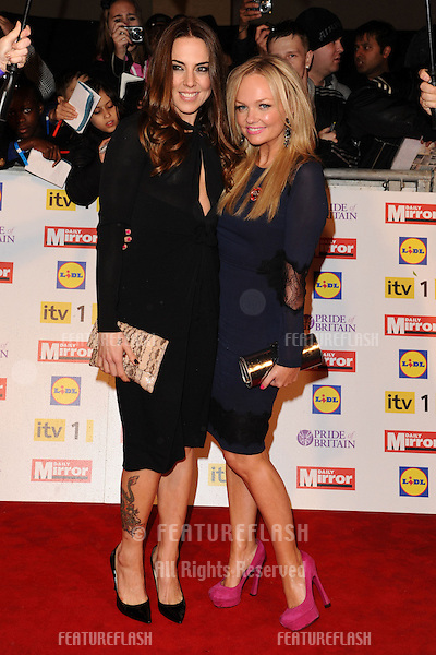 Mel C and Emma Bunton arriving for the 2012 Pride of Britain Awards, at the Grosvenor House Hotel, London. 29/10/2012 Picture by: Steve Vas / Featureflash