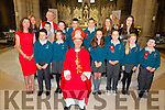 Pupils from Foilmore NS who made their Confirmation in The O'Connell Memorial Church in Cahersiveen on Monday were front l-r; Norah Golden(principal), Eoghan O'Grady, Emma Sheehan, Bishop Ray Browne, Rachel O'Grady, Dylan O'Shea, Ellie Kavanagh, Daniel Casey, back l-r; Michelle Daly(SNA), Fiachra Collins, Canon Larry Kelly, Séamus Sugrue, Joseph Coffey, Kevin Murphy, Niamh Clifford & Elaine Grandfield(teacher).