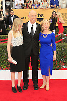 JK Simmons, wife, daughter at the 2015 Screen Actor Guild Awards at the Shrine Auditorium on January 25, 2015 in Los Angeles, CA David Edwards/DailyCeleb.com 818-249-4998