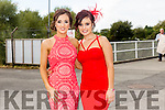 Enjoying Ladies Day at the Listowel Races on Friday were: Diane Lucey Talor and Helena Scannell from Listowel