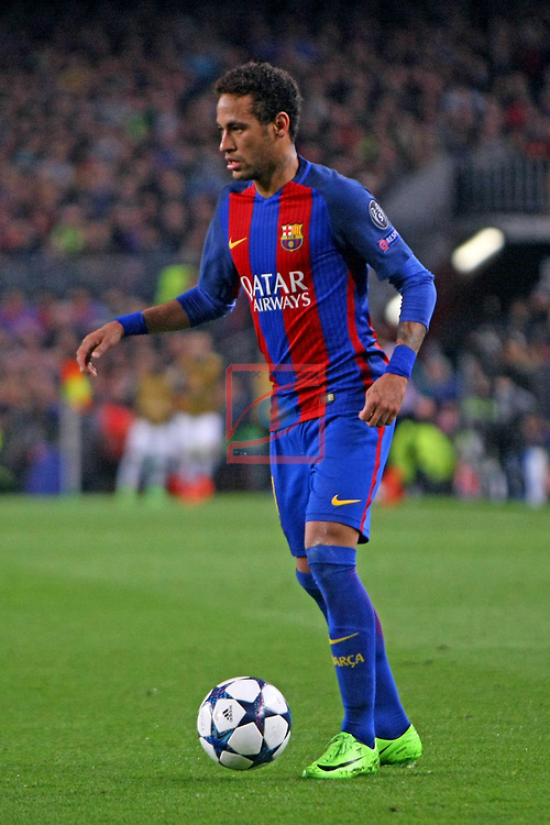 UEFA Champions League 2016/2017.<br /> Round of 16 2nd leg<br /> FC Barcelona vs Paris Saint-Germain: 6-1.<br /> Neymar Jr.