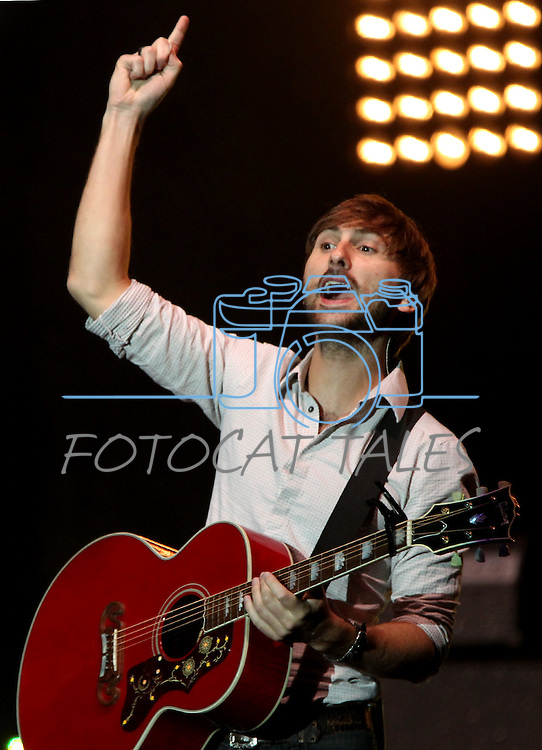 Dave Haywood of Lady Antebellum performs at Harveys Lake Tahoe in Stateline, Nev., on Friday, July 29, 2011. .Photo by Cathleen Allison