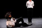 OUVREZ!..Danses apéritives // duo..Création 2008....Chorégraphie : Sylvain Prunenec..Interprétation : Sylvain Prunenec et Kerem Gelebek..Musique : Manuel Coursin et Michel Guillet..Lumières : Erik Houllier..Le 29/09/2012..Parc culturel de Rentilly..© Laurent Paillier / photosdedanse.com..All rights reserved