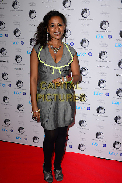 LONDON, ENGLAND - DECEMBER 8 - Ayesha Antoine  attends 2nd Annual Triforce Film Festival on December 8, 2013, at BAFTA, in London, England.<br /> CAP/BF<br /> &copy;Bob Fidgeon/Capital Pictures