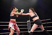 Danish Fight Night i Ceres Arena Aarhus Sarah Mahfoud (Denmark) vsJesica Sanchez (Spanien)