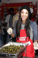 Bianca Lawson<br /> at The Los Angeles Mission Christmas Eve Celebration, Los Angeles Mission, Los Angeles, CA 12-24-13<br /> David Edwards/DailyCeleb.com 818-249-4998