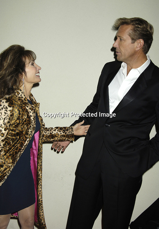 Susan Lucci and Walt Willey ..at ABC Casino Night on October 27, 2005 at The Lighthouse at Chelsea Piers. ..Photo by Robin Platzer, Twin Images