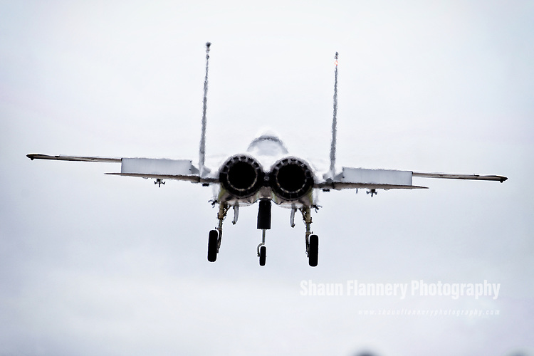 Pix: Shaun Flannery/shaunflanneryphotography.com<br /> <br /> COPYRIGHT PICTURE&gt;&gt;SHAUN FLANNERY&gt;01302-570814&gt;&gt;07778315553&gt;&gt;<br /> <br /> 7th August 2017<br /> Royal Air Force Lakenheath<br /> F-15 Fighter Wing