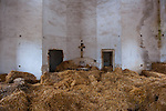 Puglia - Minervino. A church abandoned now it's a barn