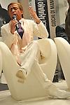 (KIKA) - TORINO - 17/05/2013 A Torino si tiene il 26° Salone del Libro con esposizioni, dibattiti e grandi ospiti, al salone del Lingotto. Dario Ballantini, Striscia la Notizia