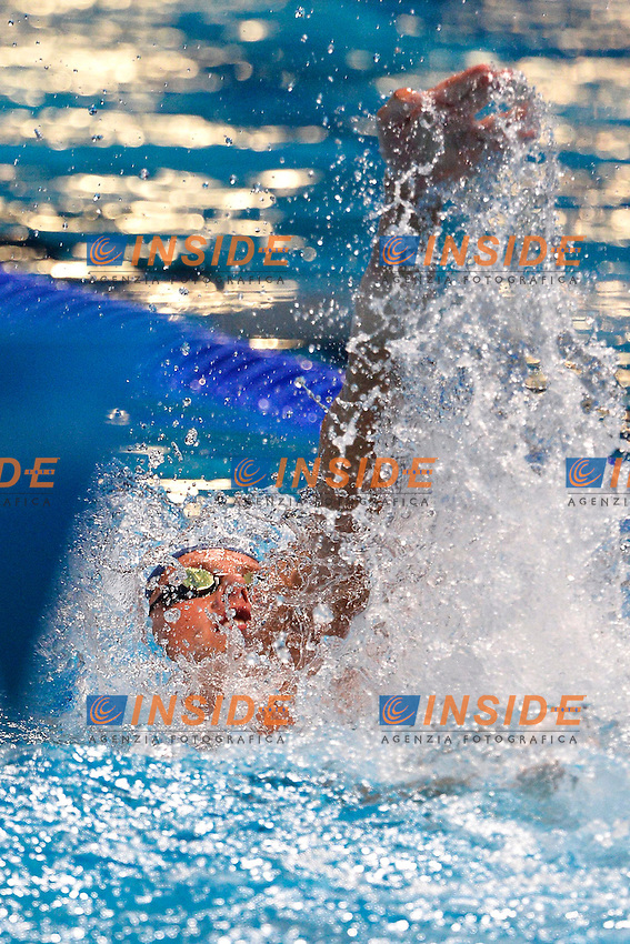 Lavrans Solli Norway Men's 100m Backstroke <br /> Swimming - Nuoto <br /> Barcellona 29/7/2013 Palau St Jordi <br /> Barcelona 2013 15 Fina World Championships Aquatics <br /> Foto Andrea Staccioli Insidefoto
