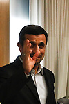 Iranian President Mahmoud Ahmadinejad at the general U.N headquarters in New York, United States. 09/23/2012. Photo by Kena Betancur/VIEWpress.