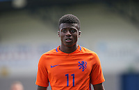 Javairo Dilrosun (Manchester City) of Holland during the International match between England U19 and Netherlands U19 at New Bucks Head, Telford, England on 1 September 2016. Photo by Andy Rowland.