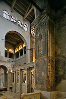 Agios Dimitrios church,nave,Iconostasis,Thessaloniki,Macedonia,Greece