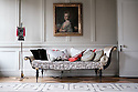 London, UK. 07.02.2015. 40 Winks Hotel is a boutique hotel in Stepney Green owned and run by interior designer, David Carter, who hosts 'Saturday Super Salon'. This 'Saturday Super Salon' is the first in a series of interviews by journalist, Liz Hoggard. Picture shows interior details of the hotel. Photograph © Jane Hobson.