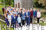Killarney Mayor John Sheahan cuts the tape to officially open  the Farranfore Railway Park on Sunday