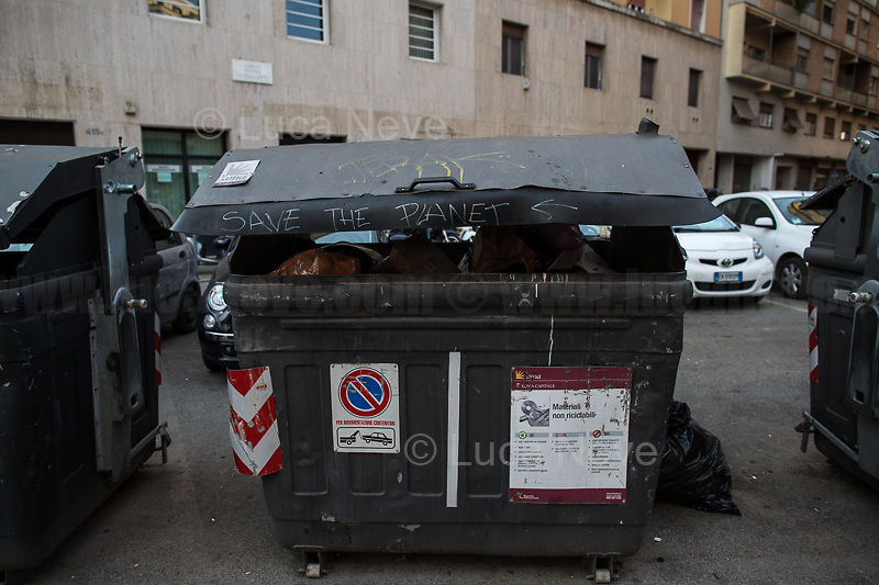 """""""Save the planet"""".<br /> <br /> Rome, 10/03/2020. Rome's Olympic Village district under the Italian Government lockdown for the Outbreak of the Coronavirus SARS-CoV-2 - COVID-19. On the 22nd March, the Italian PM Giuseppe Conte signed a new Decree Law which suspends non-essential industry productions and contains the list of allowed working activities, which includes Pharmaceutical & food Industry, oil & gas extraction, clothes & fabric, tobacco, transports, postal & banking services (timetables & number of agencies reduced), delivery, security, hotels, communication & info services, architecture & engineer, IT manufacturers & shops, call centers, domestic personnel (1.).<br /> Updates: Italy: 22.03.20, 6:00PM: 46.638 positive cases; 7.024 recovered; 5.476 died.<br /> <br /> The Rome's Olympic Village (1957-1960) was designed by: V. Cafiero, A. Libera, A. Luccichenti, V. Monaco, L. Moretti. «Built to host the approximately 8,000 athletes involved in the 1960 Olympic Games, Rome's Olympic Village is a residential complex located between Via Flaminia, the slopes of Villa Glori and Monti Parioli. It was converted into public housing [6500 inhabitants, ndr] at the end of the sporting event. The intervention is an example of organic settlement, characterized by a strong formal homogeneity, consistent with the Modern Movement's principles of urbanism. The different architectural structures are made uniform by the use of some common elements: the pilotis, ribbon windows, concrete stringcourses, and yellow brick curtain covering. At the center of the neighborhood, the Corso Francia viaduct - a road bridge about one kilometer long - was built by Pier Luigi Nervi […]» (2.).<br /> <br /> Info about COVID-19 in Italy: http://bit.do/fzRVu (ITA) - http://bit.do/fzRV5 (ENG)<br /> 1. March 22nd Decree Law http://bit.do/fFwJn (ITA)<br /> 2. (Atlantearchitetture.beniculturali.it MiBACT, ITA - ENG) http://bit.do/fFw3H<br /> 12.03.20 Rome's Lockdown for the Outbreak of the Coronavirus """