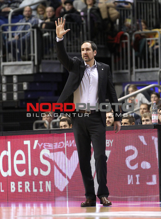 03.01.2014, O2 world, Berlin, GER, 1.BBL, ALBA Berlin vs EWE Baskets Oldenburg, im Bild Sebastian Machowski (Baskets Oldenburg)<br /> <br />               <br /> Foto &copy; nordphoto /  Schulz