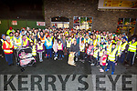 Ready for road at the Garveys Operation Transformation with Kieran Donaghy on Thursday night.