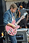 Joel Graves of Everest performs at the 2012 Forecastle Festival in Louisville, Kentucky.